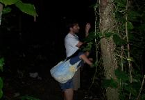 Private night hike on August 28, 2008.