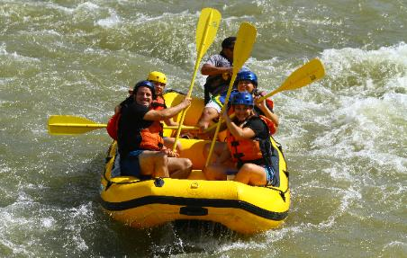 White River Rafting at Las Mar�as, transportation available for groups!